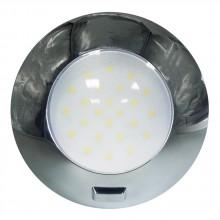 Aqualed Round Dome Light With Switch 4000K