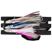 X-way Crystal Jig Double Skirt+Feather