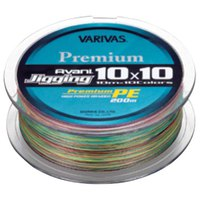 Varivas Avani Light Jigging PE 10x10 200 m