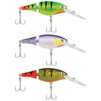 Berkley Flicker Shad Jointed Fire Tail 70 mm 8.5 gr