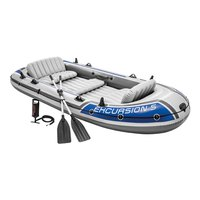 Intex Inflatable Excursion 5 Boat & 2 Paddles
