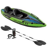 Intex Inflatable Challenger K2 Kayak & 2 Paddles