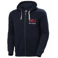 Helly hansen Logo Full Zip Sweatshirt