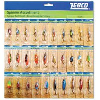 Zebco Spinner Assortment 30 Units