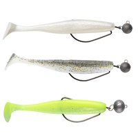 Swimy Pompei Shad 100 mm+Cheburashka Rig 7 gr Pack 20 Units