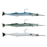 Savage gear 3D Needlefish Pulsetail 140 mm 12 gr 2+1 Unités