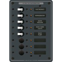 Blue sea systems DC Circuit Breaker Panel 8 Positions