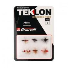 Teklon Flies Assortment Ants
