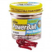 Berkley Powerbait Maxi Blood Worms 100 pcs